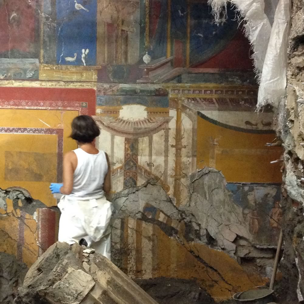 Positano like Pompeii: for the first time opened to the public the Roman villa buried by the eruption of 79 AD