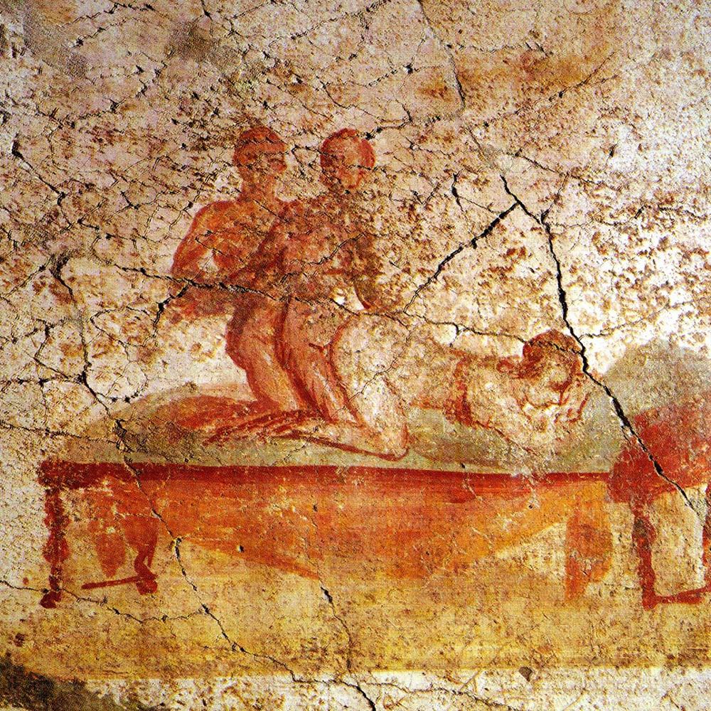 Pompeii, sex is the soul of commerce: the erotic paintings of the Suburban Thermal Baths