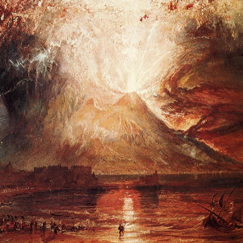 William Turner - Mount Vesuvius in Eruption, 1817