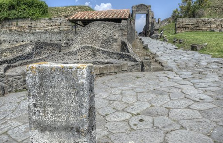 The Necropolis of The Porta Nocera